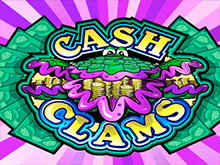 Автомат Cash Clams в казино Вулкан 24