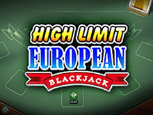 Игровой слот High Limit European Blackjack