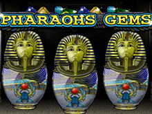Онлайн-лотерея с выплатами призов Pharaohs Gems