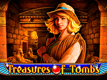Автомат Treasures Of Tombs в Вулкан 24