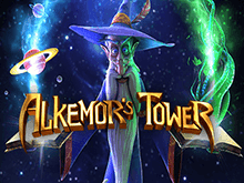 Автомат Alkemors Tower в Вулкан 24